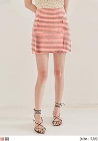 SOIN CHECK SET-UP MINI SKIRT
