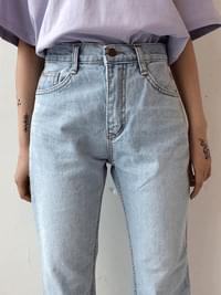 Ice exhaust denim pants