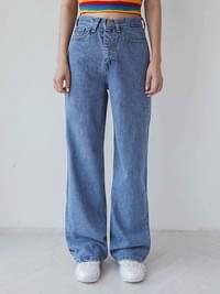 Deli Long denim pants