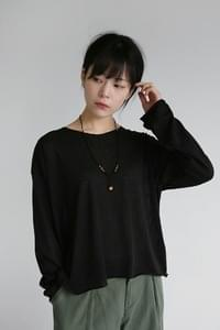 soft texture loose knit