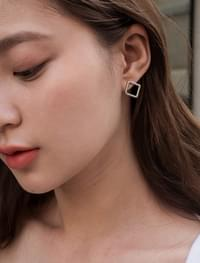 easy square earring