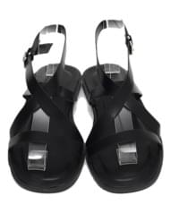 Core leather strap sandal_K