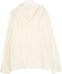 cotton sofi hood blouse