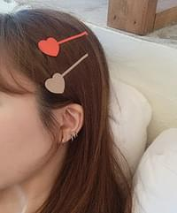 True Heart Hairpins