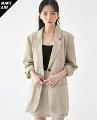 FRESH A soap linen jacket