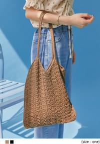GRINGS SQUARE KNIT BAG