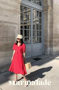 Marmalade ♥. Provence Red Dress