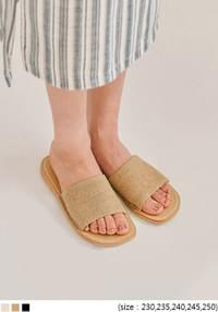 TOSS DAILY STITCH SLIPPER - 2 TYPE