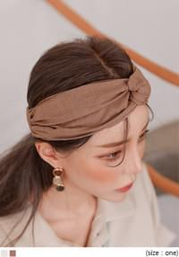 CANS LINEN TWIST TURBAN