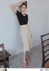 HOWEN 1/2 KNIT CARDIGAN SET