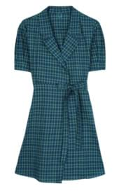 Jane Lap Check Dress