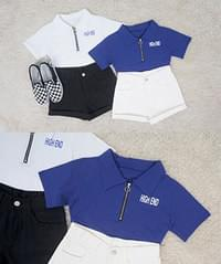 And Crop Short Sleeve T