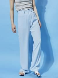 french long slacks - woman