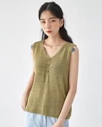 have some knit sleeveless