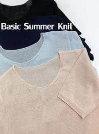 Planning Products ♥ Basic Summer Knit
