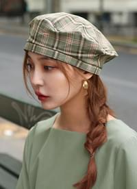 Puffin Check Beret