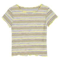 wave slim stripe 1/2 T - woman
