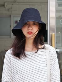 Cotton shade bucket hat_M