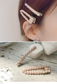 Strawberry milk hairpin SET