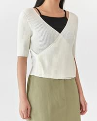 reed double wrap knit