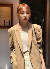 New season linen jacket