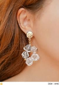 JULIA CRYSTAL DROP EARRING