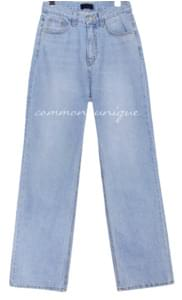 HINT STRAIGHT LONG DENIM PANTS