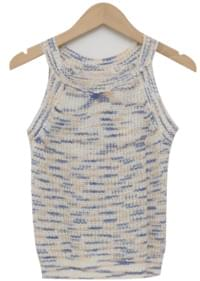 Poping halter neck sleeveless_Y