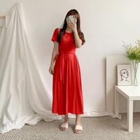 Garden Ribbon Long Dress