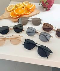 Metal Line Sunglasses