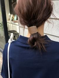 natural wood hairband