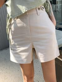 4-length unique cotton shorts