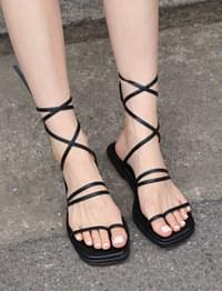 Ankle cover gladiator sandal_B