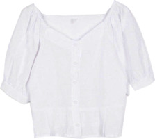 holic puff sleeve blouse