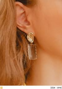 EACOA CRYSTAL DROP EARRING