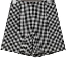 June check banding shorts_K (size : free)