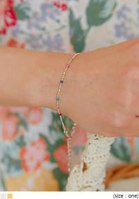 PRING COLOR MINI BEADS BRACELET