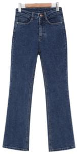 Long boots-cut denim pants_K (size : S,M,L)
