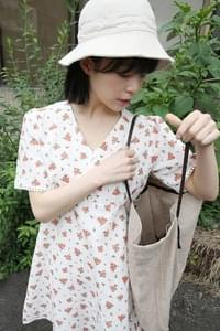 linen shoulder strap bag (3colors)