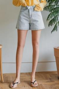 Two Button High Shorts
