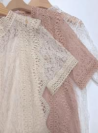 ♥ Lace flower blouse