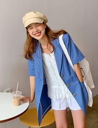 Sugar linen single jacket_A (린넨 55%) (size : free)