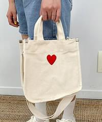 Mini Heart Square Bag