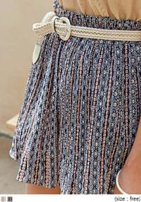 AROMI ETHNIC CHIFFON PANTS SKIRT