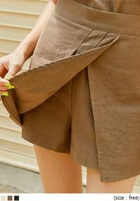 FUSE LINEN SET-UP PANTS SKIRT