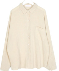 basic coco pocket shirt ブラウス