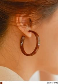 GELT SIMPLE RING EARRING