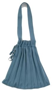 knit pleats bag