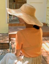 natural mood raffia hat