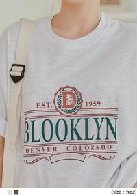 BLOOKLYN LETTERING BOXY 1/2 T